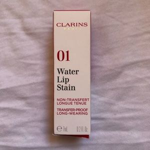 Clarins Water Lip Stain 01 Rose Water